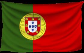 portugal wrinkled flag PNG images transparent