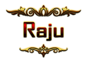 Download raju happy birthday vector cake name png png ...