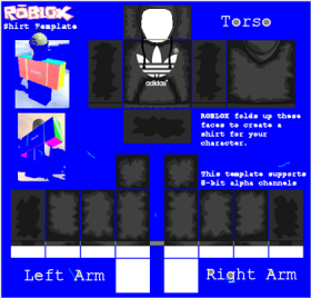 Download Roblox Jacket Png Png Free Library Roblox Adidas Shirt