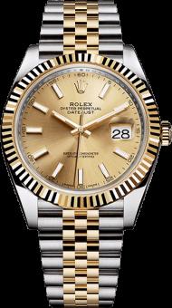rolex - rolex datejust 41 gold PNG images transparent