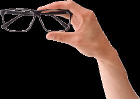 shop now - glasses hand PNG images transparent