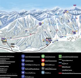 slopemap - tufandag ski resort PNG images transparent