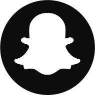 snapchat logo4 - snapchat logo png black and white PNG images transparent