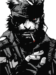 Download Solid Snake 2 72 01 Metal Gear Solid Big Boss Art