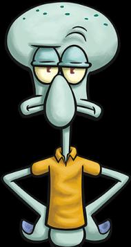 Download Squidward Personagens Desenho Bob Esponja Png Free