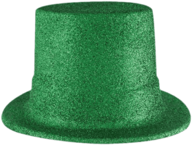 St Patrick S Day Elements Hat 2 Scrap And Tubes Beistle Green