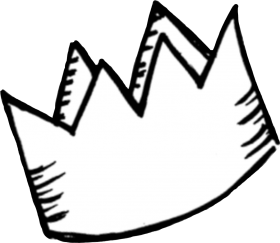 Download Sticker Png Tumblr White Crown Cute Aesthetic Royalty Doodle Crown Png Free Png Images Toppng