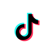 tiktok logo symbol vector PNG images transparent