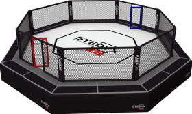 Download ufc cage png - ring boxing octago png - Free PNG ...