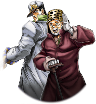 Download Unit Jotaro Kujo And Old Joseph Jotaro Kujo Png Free Png Images Toppng