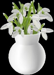 download snowdrops basket bouquet transparent png images background toppng. Black Bedroom Furniture Sets. Home Design Ideas