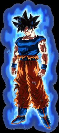 Download W Aura Arts Dragon Ball Z Dokkan Battle Goku Ultra Instinct Png Free Png Images Toppng