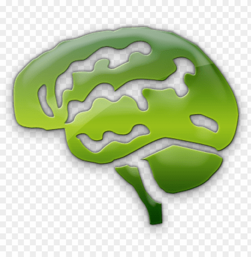 free PNG 063475 green jelly icon people things brain - green brain icon png - Free PNG Images PNG images transparent