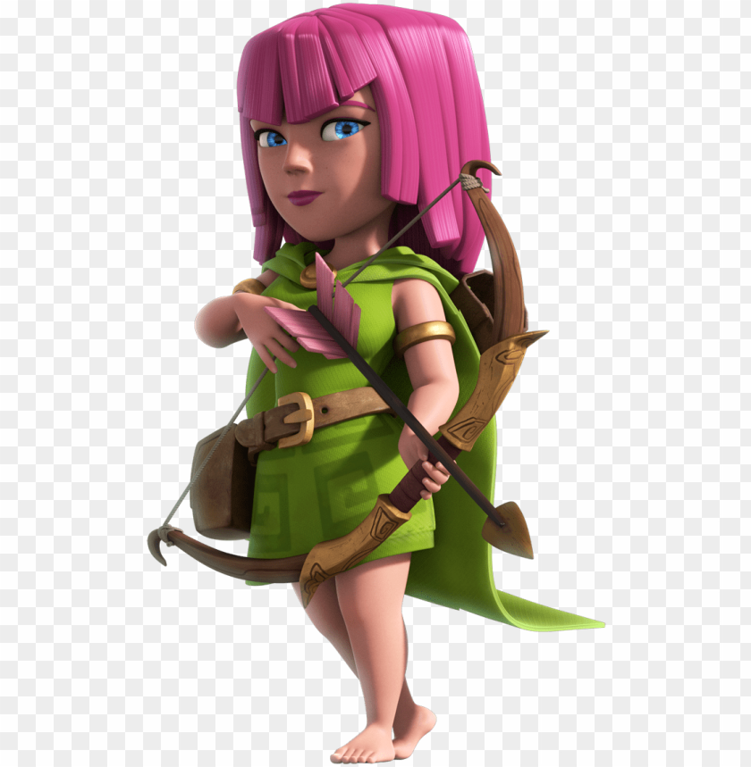 free PNG 1 clash of clans hack application on all over internet - clash royale cards archer PNG image with transparent background PNG images transparent