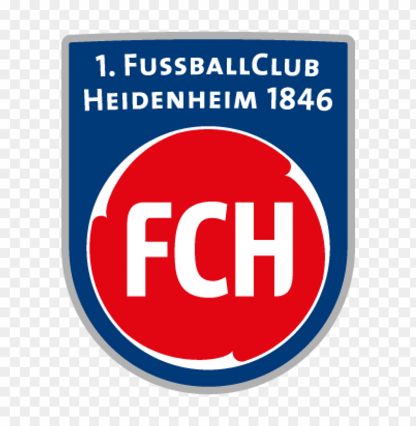 free PNG 1. fc heidenheim vector logo PNG images transparent