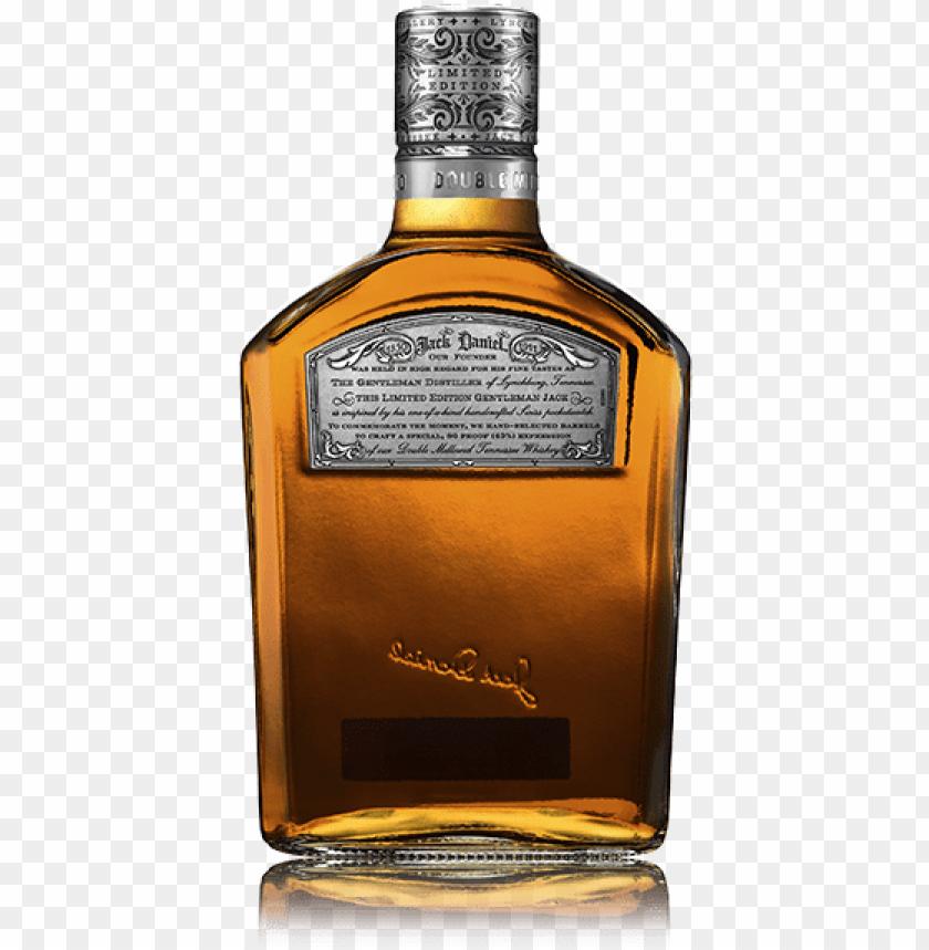 free PNG 1 litre jack daniel's gentleman jack limited edition - blended whiskey PNG image with transparent background PNG images transparent
