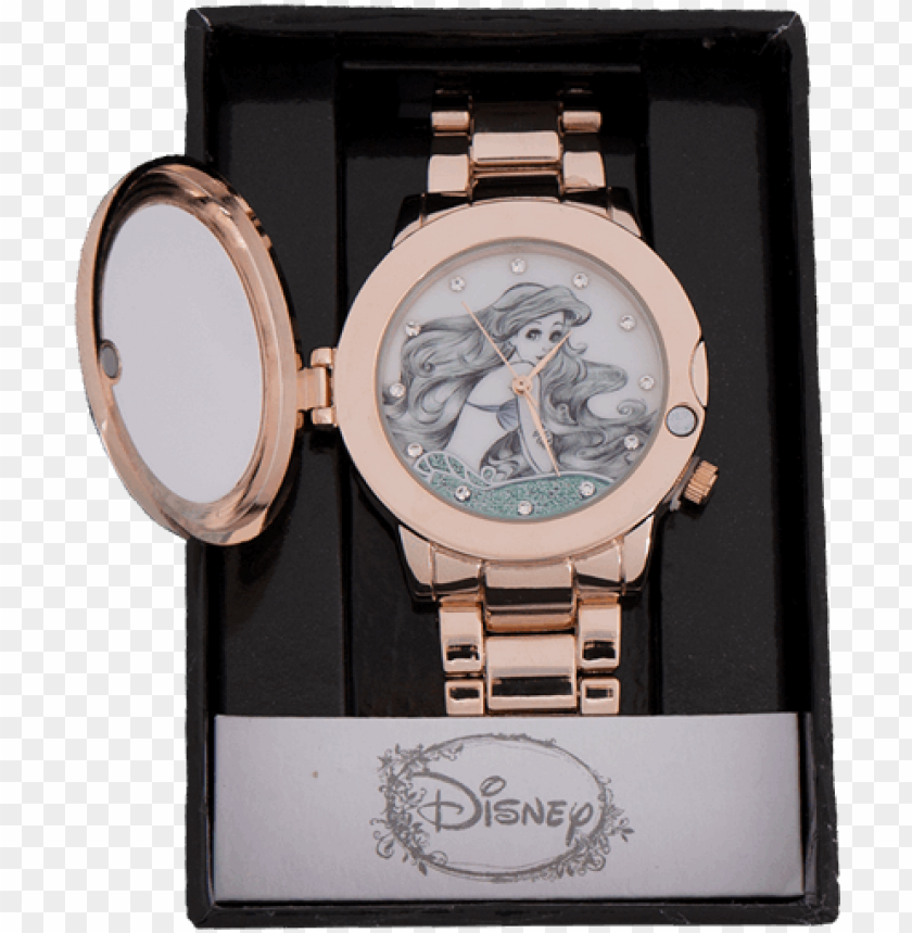 free PNG 1 of - disney the little mermaid ariel locket watch PNG image with transparent background PNG images transparent