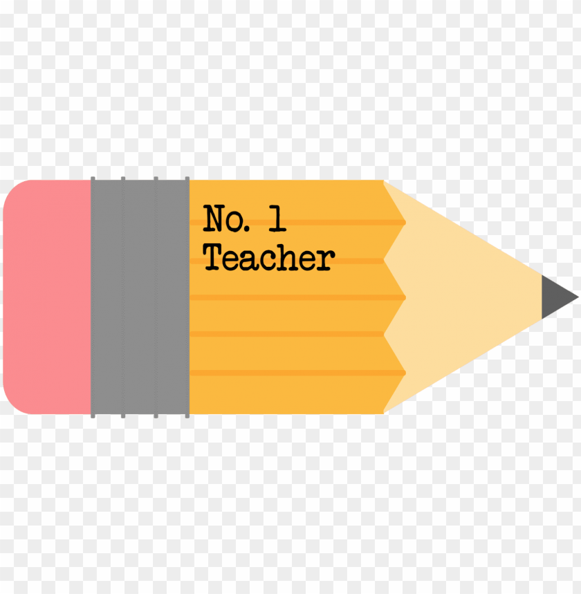 free PNG 1 teacher free printable pencil gift tag - teachers day gift tag printable PNG image with transparent background PNG images transparent