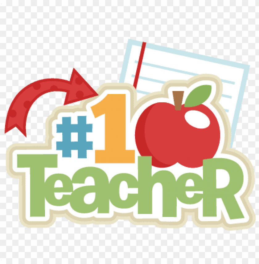 free PNG # 1 teacher svg scrapbook title school svg cut files - miss kate cuttables teacher PNG image with transparent background PNG images transparent