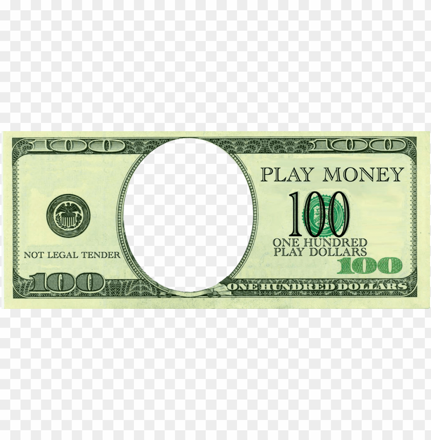 Blank 100 Dollar Bill Png Image With