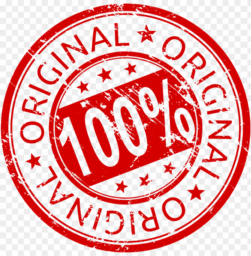 free PNG 100% percent original stamp png - Free PNG Images PNG images transparent