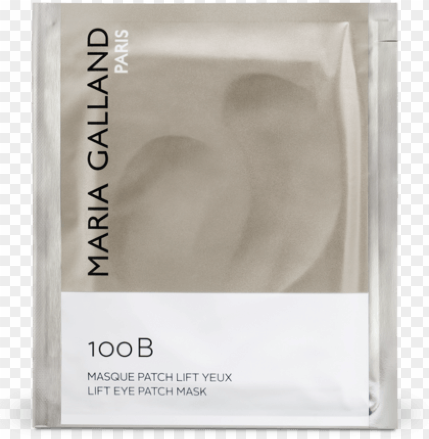 free PNG 100b lift eye patch mask - maria galland masque patch lift yeux 100 b PNG image with transparent background PNG images transparent