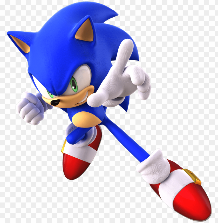 1123 X 1200 1 Sonic The Hedgehog Render Png Image With
