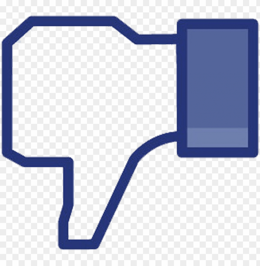 free PNG 1333508153 facebook like button - facebook thumbs down no background PNG image with transparent background PNG images transparent