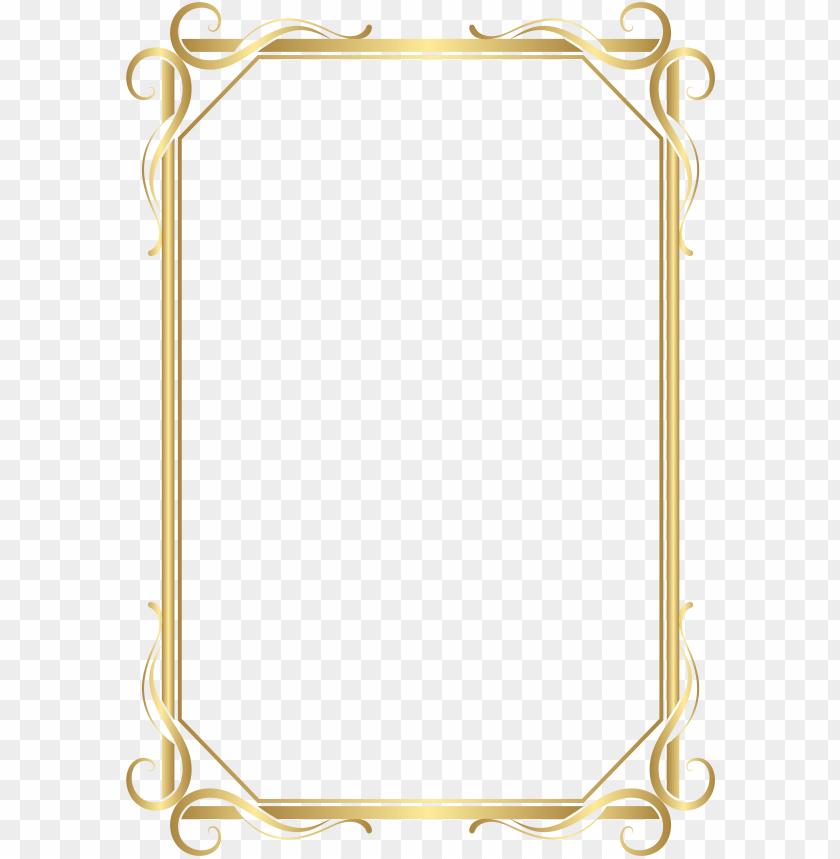 free PNG 15 frames and borders png for free on mbtskoudsalg - frames and borders gold PNG image with transparent background PNG images transparent