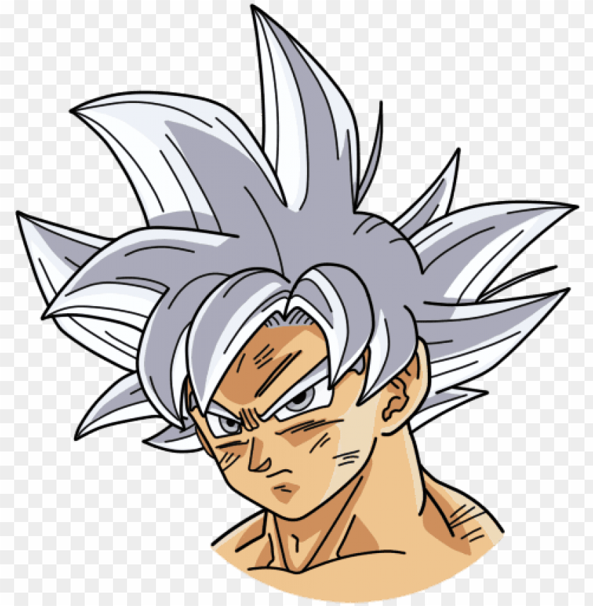 free PNG 155 kb png - goku ultra instinct hair PNG image with transparent background PNG images transparent