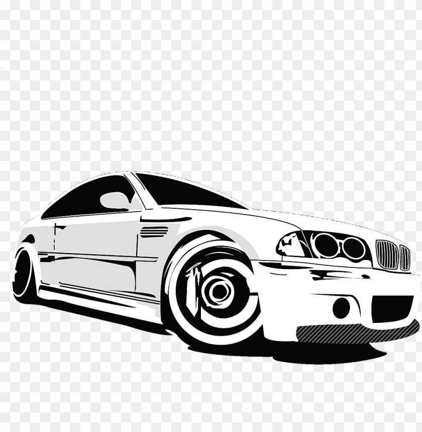 free PNG 17 bmw logo vector black white images bmw logo black - vector bmw e36 drawi PNG image with transparent background PNG images transparent