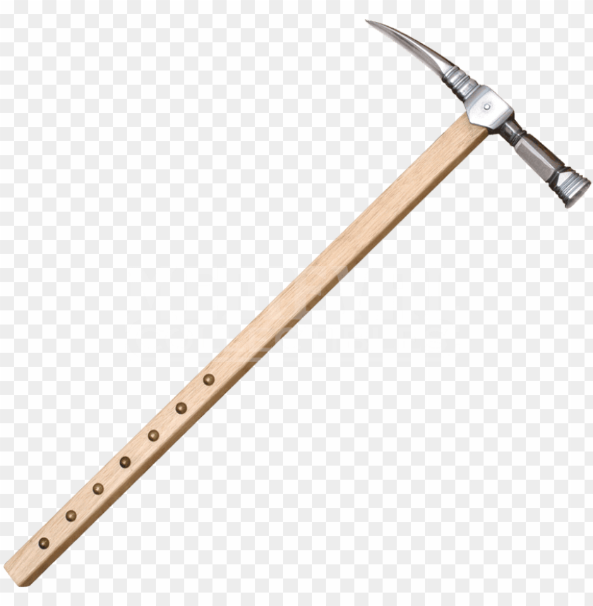 free PNG 17th century war hammer weapon PNG image with transparent background PNG images transparent
