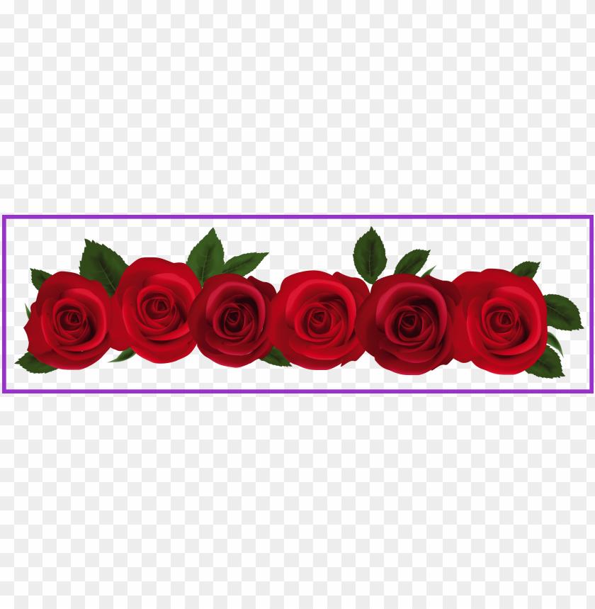 free PNG 18 ideas of pink rose flower border png - rose flower border clipart PNG image with transparent background PNG images transparent