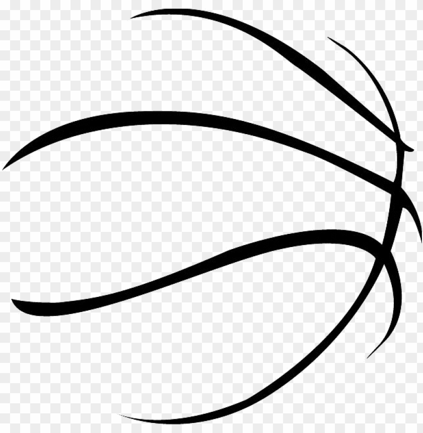 free PNG 19 basketball lines stock huge freebie download for - basketball ball silhouette PNG image with transparent background PNG images transparent