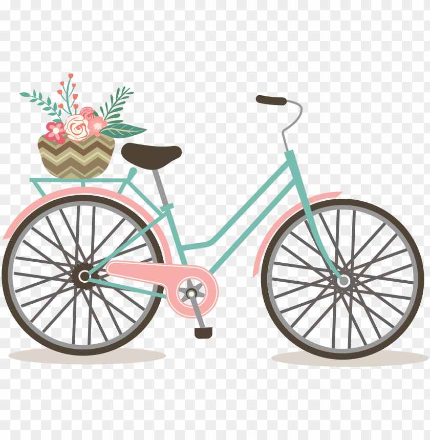 free PNG 19 biking clipart library download watercolor huge - free bicycle clip art PNG image with transparent background PNG images transparent