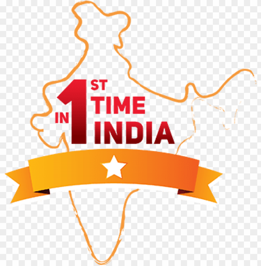 free PNG 1st time in india - 1st time in india logo PNG image with transparent background PNG images transparent