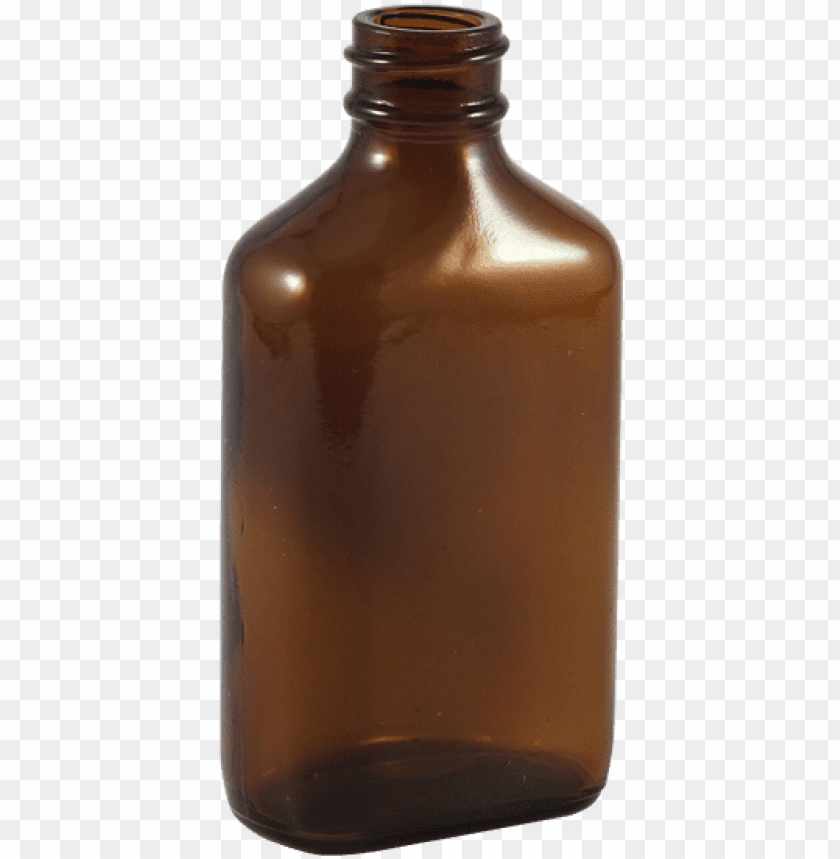 free PNG 2 oz amber glass century oval bottle - amber glass bottle frosted PNG image with transparent background PNG images transparent