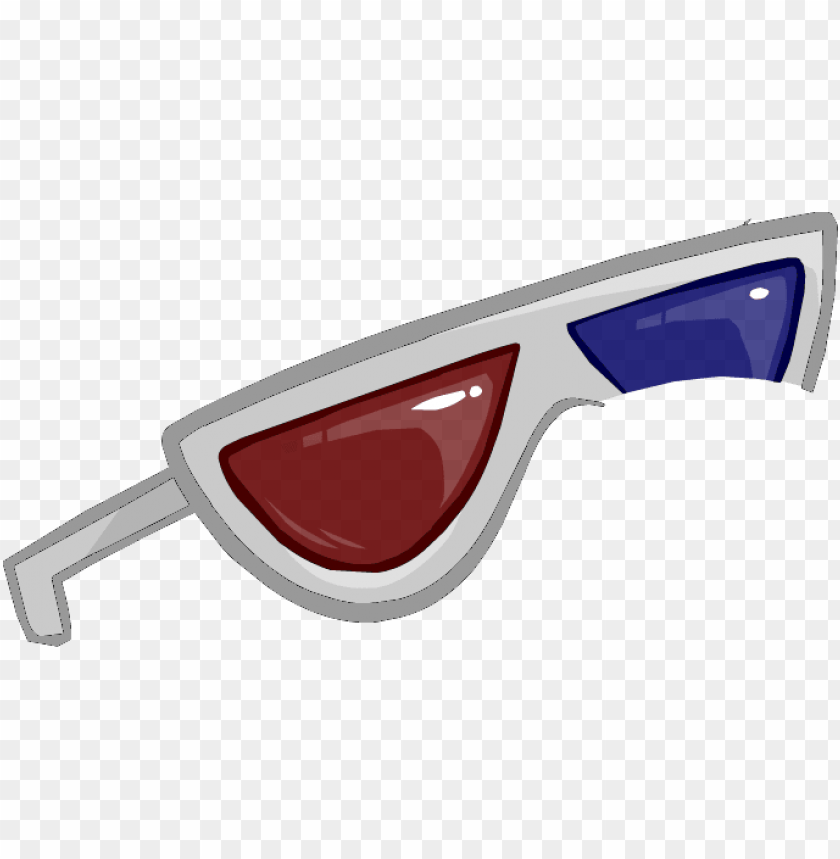 free PNG 2013 3d glasses - club penguin pixel glass PNG image with transparent background PNG images transparent