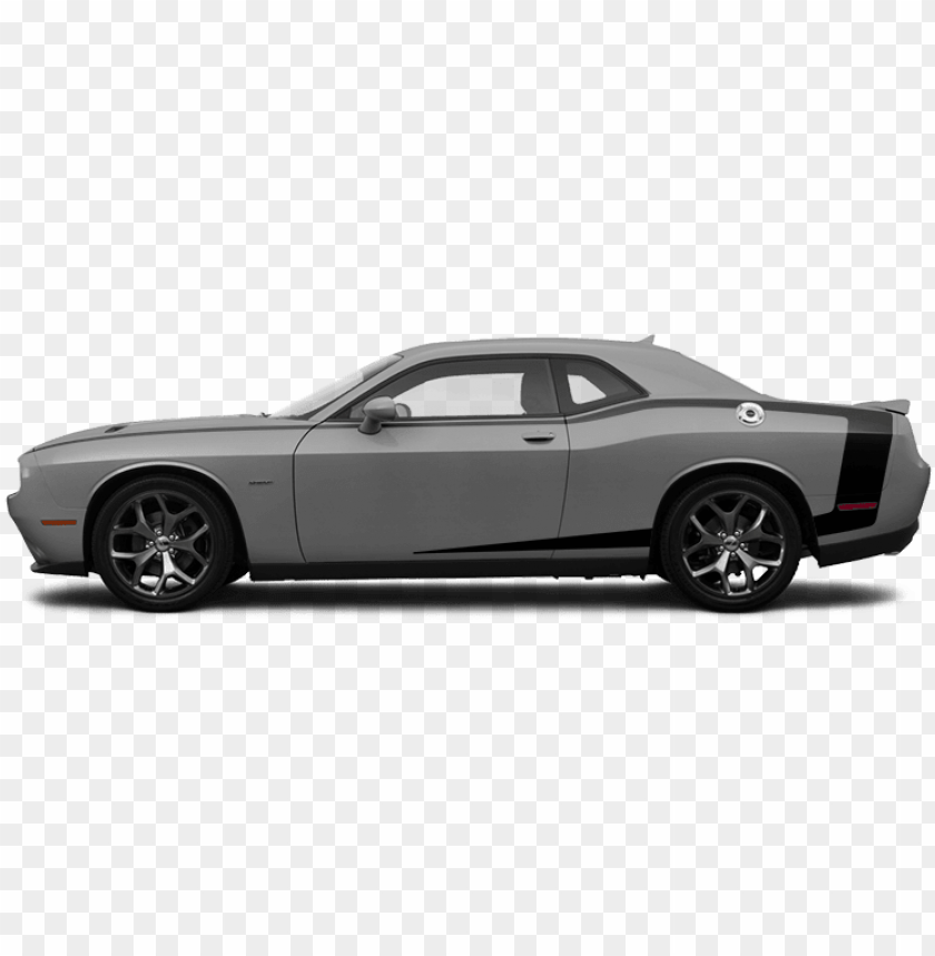 free PNG 2015-2019 challenger reverse c side pinstripes on vehicle - dodge challenger side view 2019 PNG image with transparent background PNG images transparent