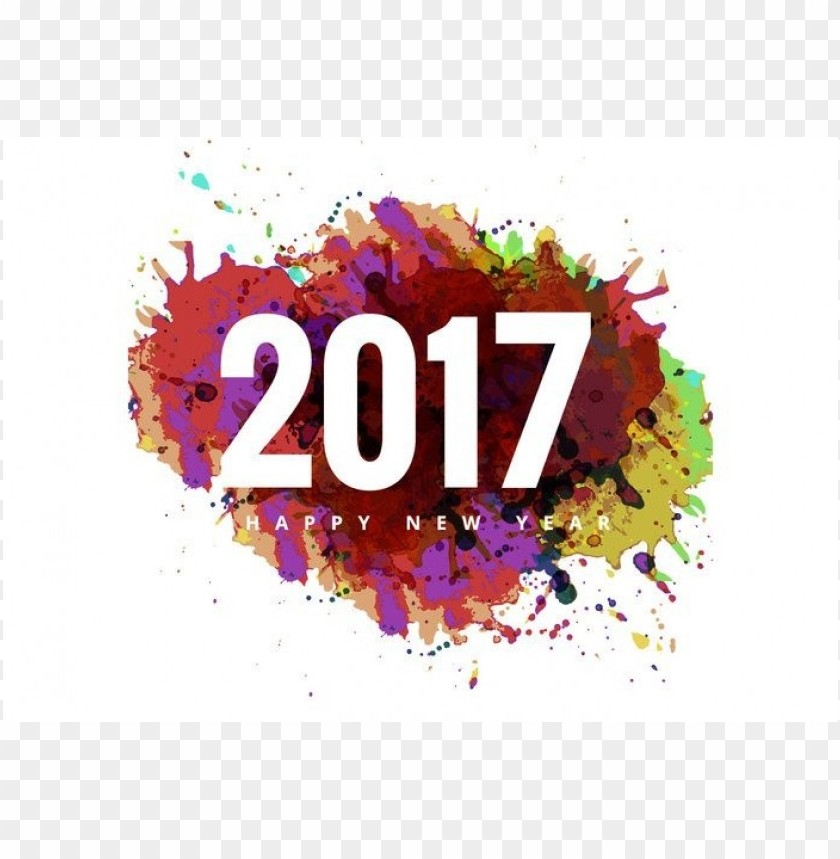 free PNG Download 2017 happy new year co clipart png photo   PNG images transparent
