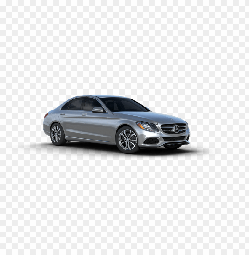 free PNG 2017 mercedes benz c class iridium silver metallic - silver mercedes car PNG image with transparent background PNG images transparent