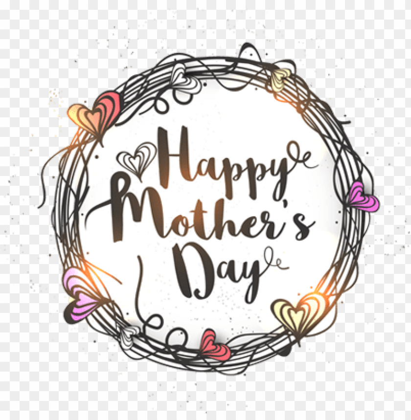 2017 mothers day stickers messages sticker-10 - happy mothers day lettering PNG image with transparent background@toppng.com