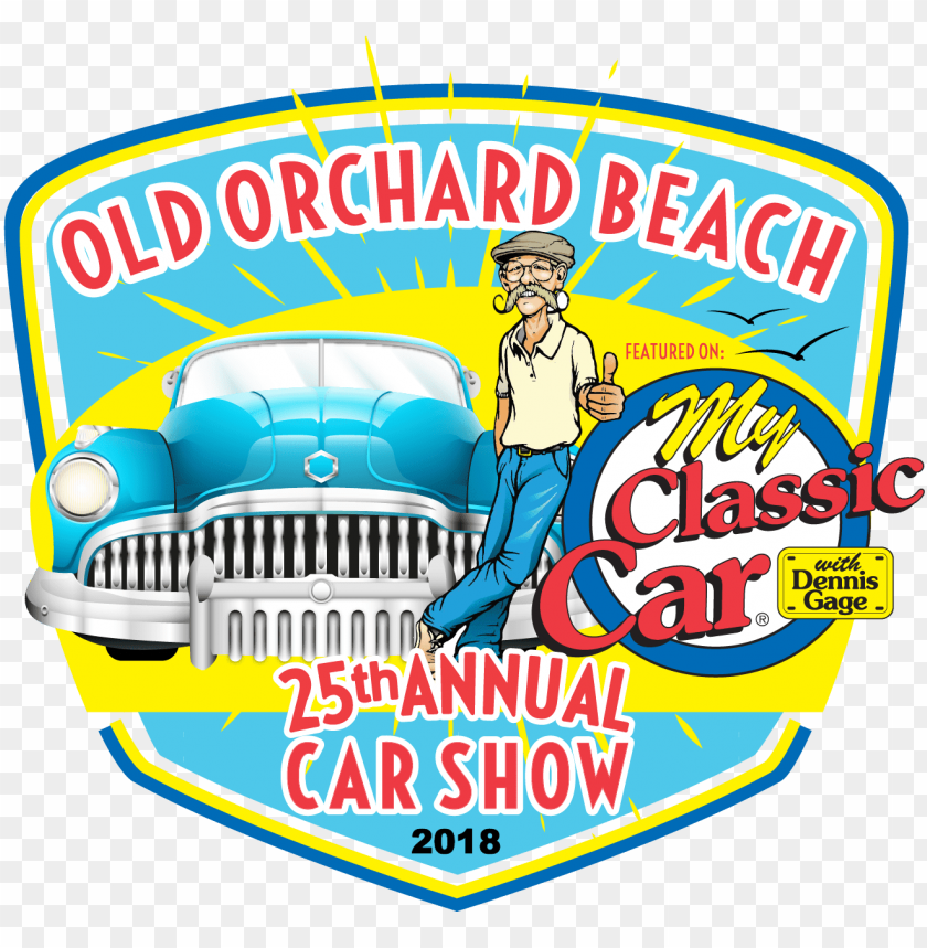 free PNG 2018 old orchard beach car show event logo - just one more car i promise funny auto car lover PNG image with transparent background PNG images transparent