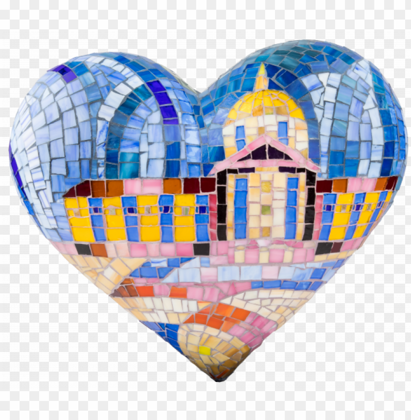 "free PNG 2018 table top heart by dmitry grudsky ""city's lights"" - 2018 PNG image with transparent background PNG images transparent"