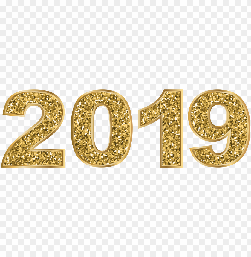 free PNG 2019 gold PNG image with transparent background PNG images transparent