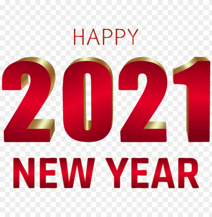 2021 Happy New Year Png Image With Transparent Background Toppng