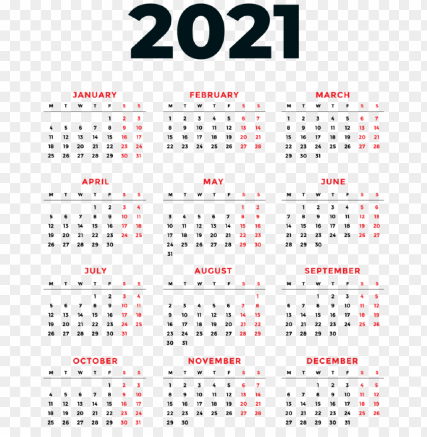View 17+ 29+ Free Download Template Kalender 2021 Png ...