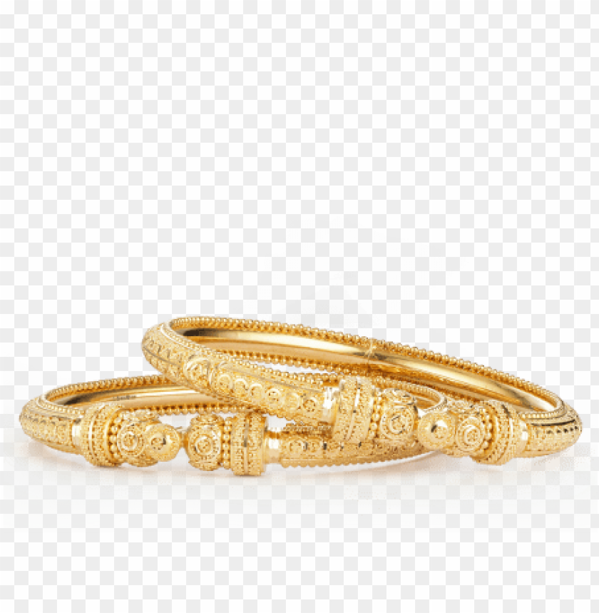 free PNG 22ct gold bauble kada bangles - bangle PNG image with transparent background PNG images transparent