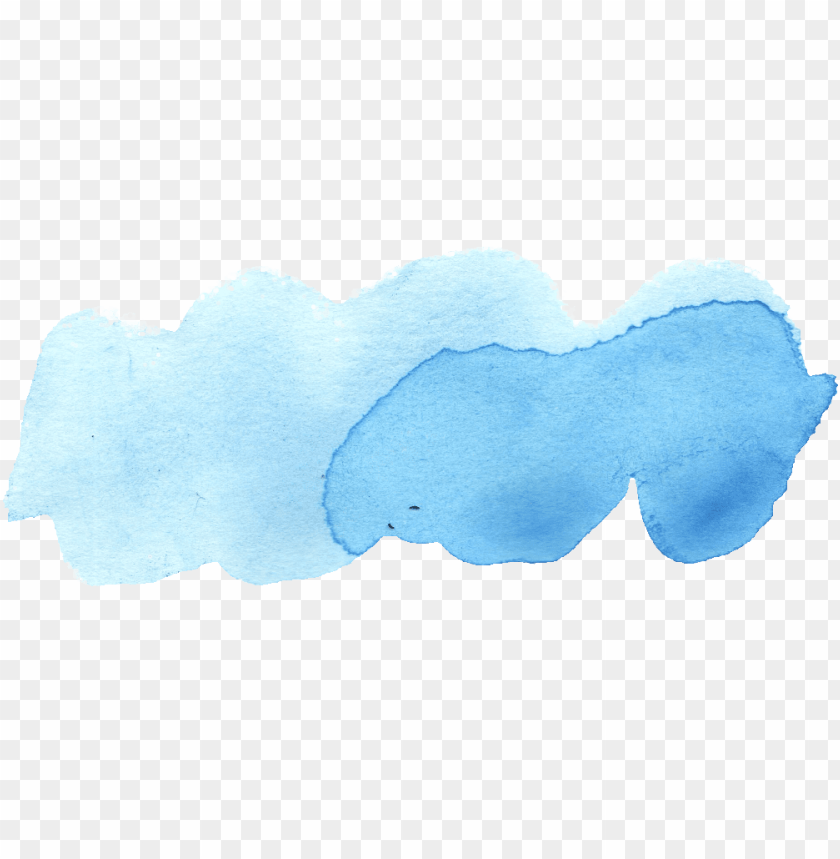 free PNG 23 blue watercolor brush stroke vol - fish PNG image with transparent background PNG images transparent