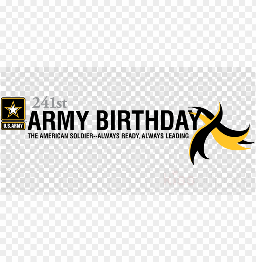 free PNG 243rd army army birthday 2018 PNG image with transparent background PNG images transparent